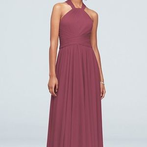 David's Bridal Chianti High Neck size 4 dress